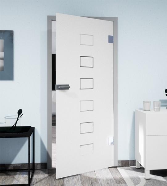 Glasdekor für Türen, Schließfach