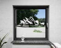 Glasdekor für Fenster, Opernhaus Sydney