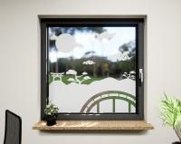 Glasdekor für Fenster, China