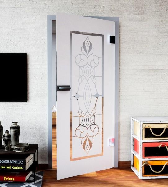 Glasdekor für Türen, Bleiglas