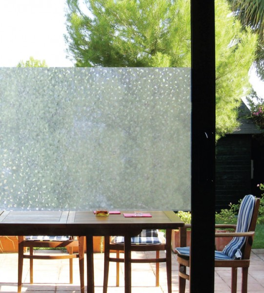 Adhäsionsfolie, transparente Struktur