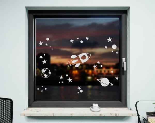 Fenstertattoo, Rakete