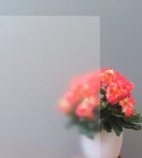 Sichtschutzfolie Frostglasdesign weiß matt