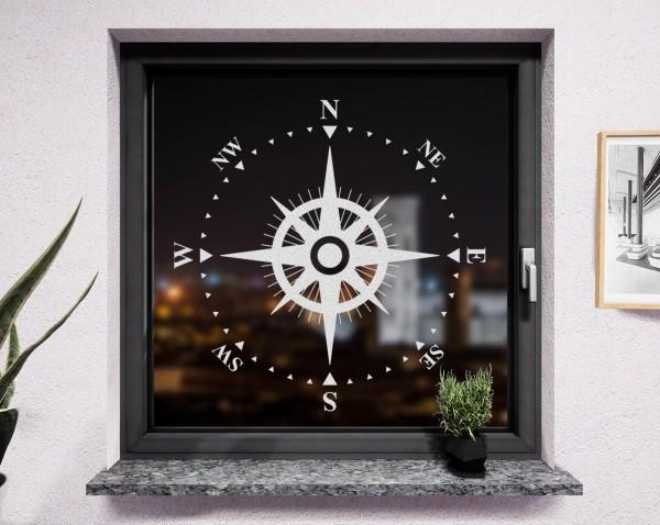 Fenstertattoo, Kompass