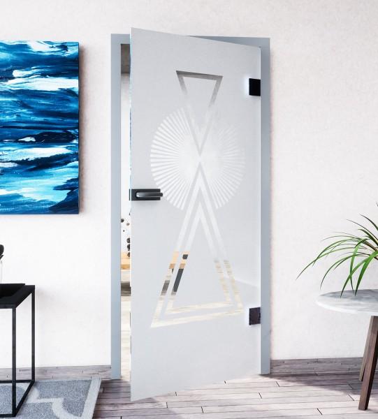Glasdekor für Türen, Maya