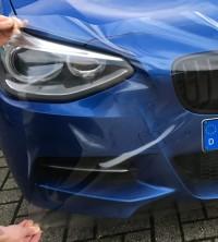 Lackschutzfolie, klar durchsichtig zum Schutz vom Autolack