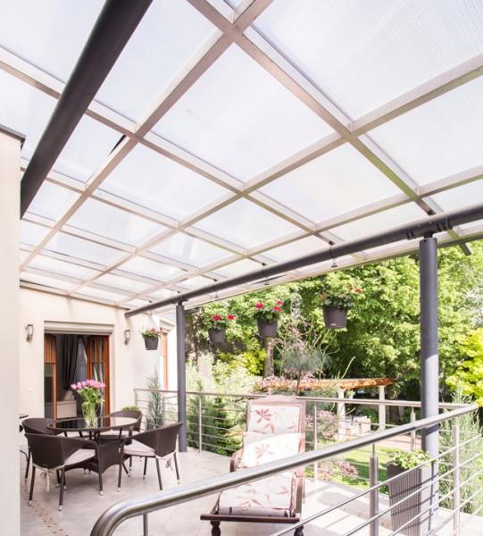 Sonnenschutzfolie für Kunststoffflächen, silber dunkel verspiegelt