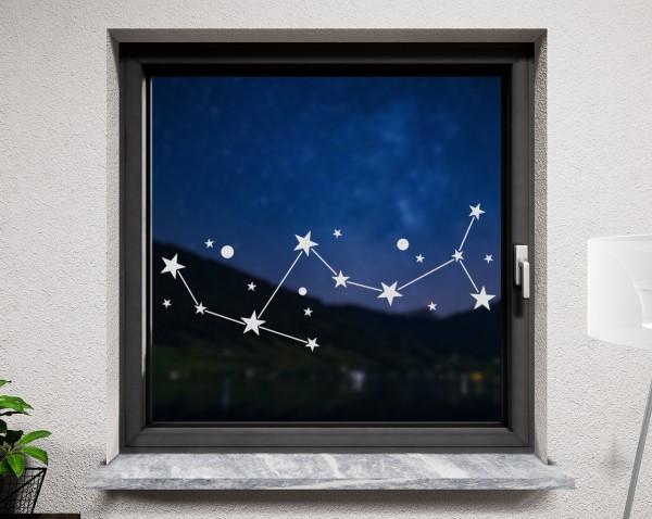 Fenstertattoo, Sternbild