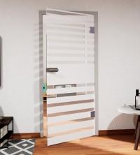 Glasdekor für Türen, asynchroner Streifenverlauf