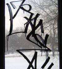 Anti-Graffiti-Folie, klar durchsichtig selbstklebend
