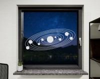 Fenstertattoo, Sonnensystem