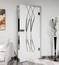 Glasdekor für Türen, Bögen