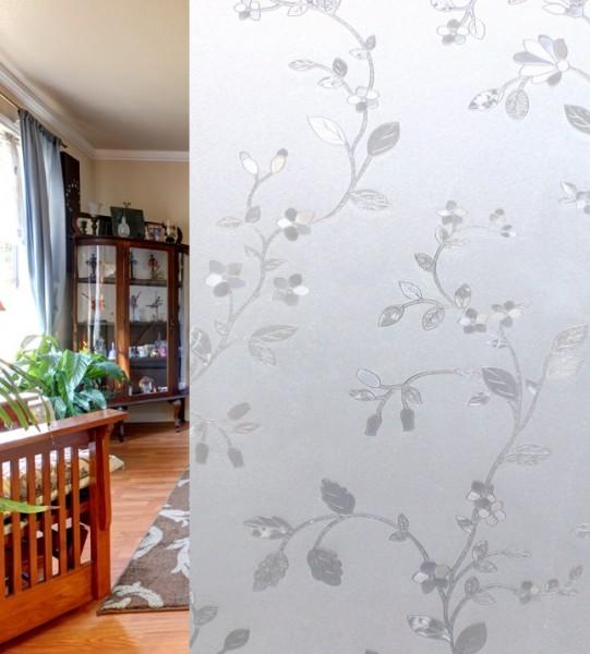 Adhäsionsfolie, Blumenranken (geprägt)