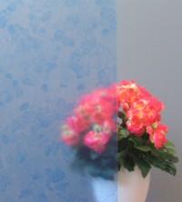 Adhäsionsfolie, blaues Design