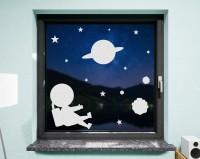 Fenstertattoo, Astronaut