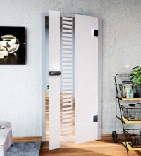Glasdekor für Türen, Leiter