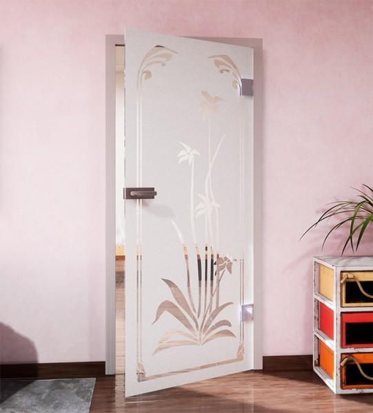 Glasdekor für Türen, Pflanzenwelt