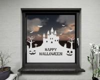 Glasdekor für Fenster, Halloween