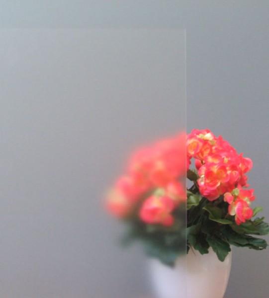 Sichtschutzfolie Ätzglasdesign weiß matt