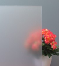 Sichtschutzfolie, Sandstrahldesign weiß matt