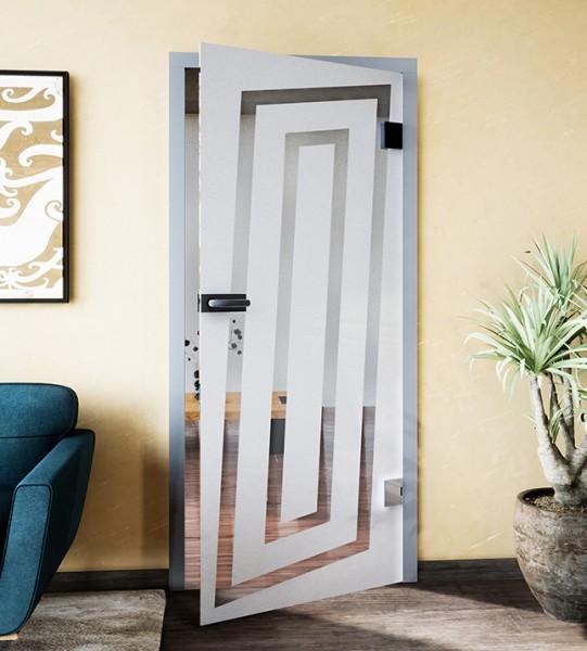 Glasdekor für Türen, Labyrinth