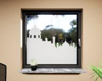 Glasdekor für Fenster, Arabisch