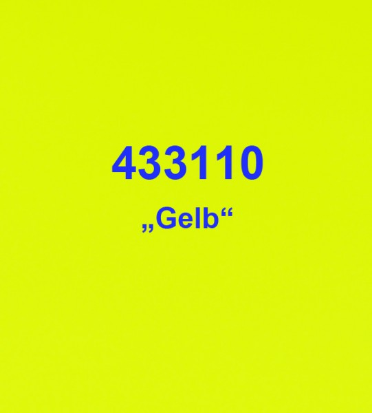 Tagesleuchtfolie Gelb