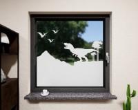 Glasdekor für Fenster, Urzeit