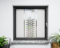 Glasdekor für Fenster, moderne Struktur