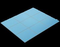 Fliesenfolie, Hellblau