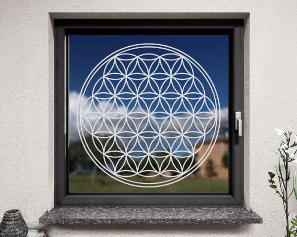 Fenstertattoo, Lebensblume