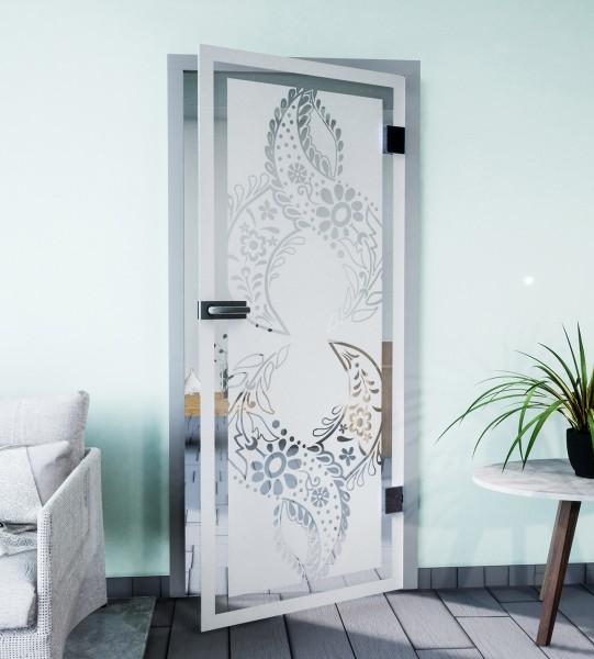 Glasdekor für Türen, Orientalisch