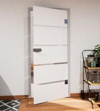 Glasdekor für Türen, breite Streifen